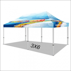 20FT/3X6 Custom Print Canopy Tents (No Bag)