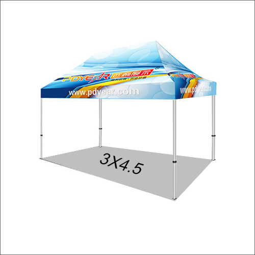 15FT/3X4.5 Custom Print Canopy Tents (No Bag)