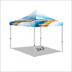 10FT/3X3 Custom Print Canopy Tents (No Bag)