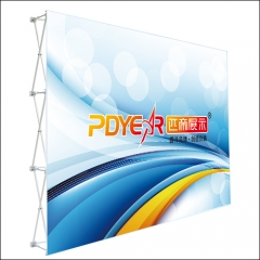 3X4/10FT Straight Pop Up Display
