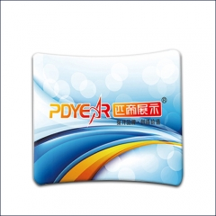 8FT/228CM(W) Curve Tension Fabric Display