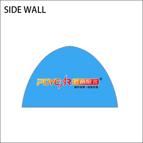 13FT/4X4M Air Tent Wall