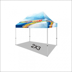 6.5X10FT/2X3 Custom Print Canopy Tents (No Bag)