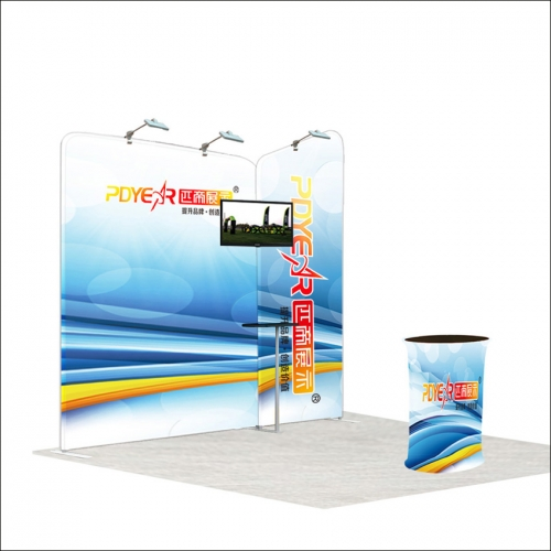 10FT / 3X3 Portable Exhibition Booth P4-33