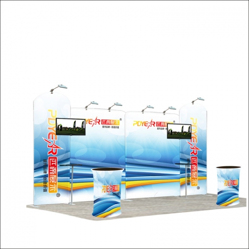 20FT / 3X6 Portable Exhibition Booth P5-36