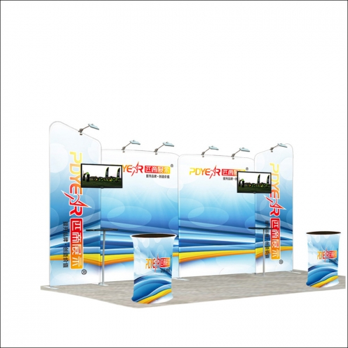 20FT / 3X6 Portable Exhibition Booth P4-36